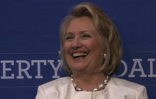 Jeb Bush, Hillary Clinton share stage: 2016 preview?