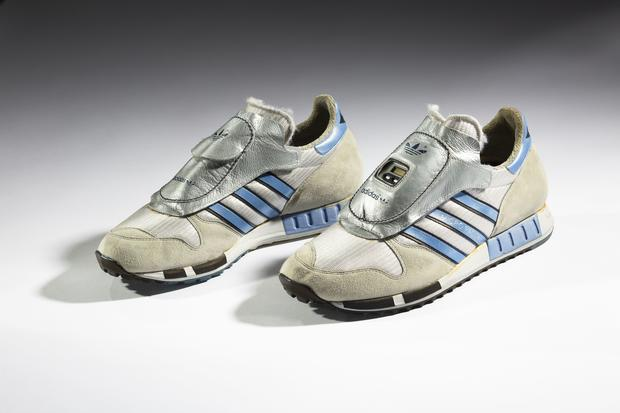 92a11c315 1984 Adidas Micropacer - The Rise of Sneaker Culture - Pictures - CBS News