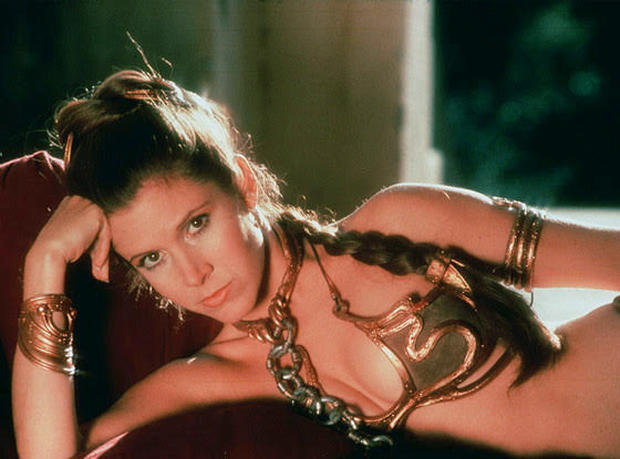 "Princess Leia ""slave girl"" bikini among Hollywood items auctioned"
