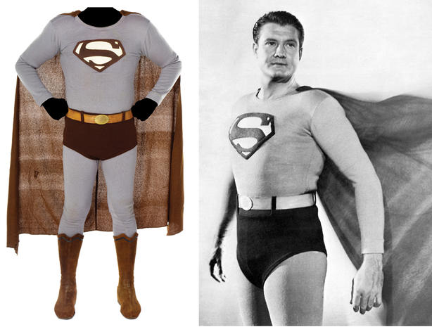 Superman costume - Princess Leia  slave girl  bikini among Hollywood items auctioned - Pictures - CBS News  sc 1 st  CBS News & Superman costume - Princess Leia