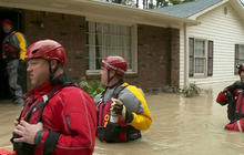 Historic floodwaters linger in South Carolina