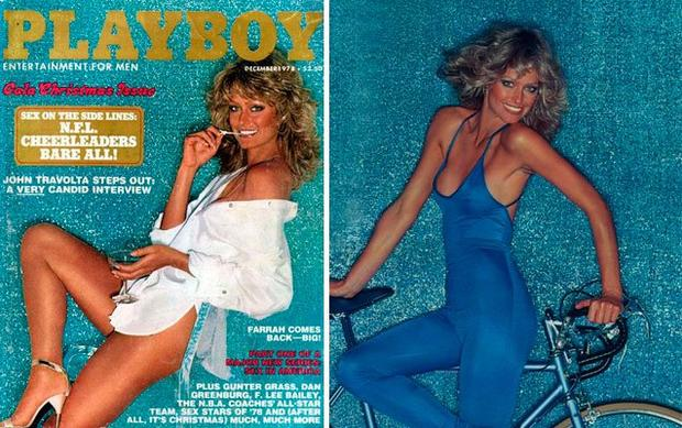 Celebrities who posed for Playboy