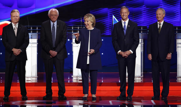 democratic debate democratic presidential candidates square off in