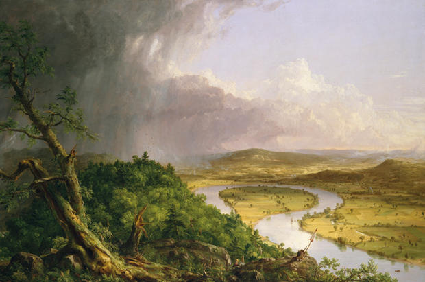 New art honoring the Hudson River School