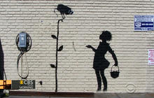 Graffiti artist Banksy setting up studio in NYC for a month