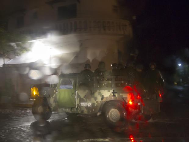Hurricane Patricia soaks Mexico