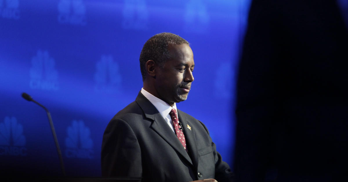 Ben Carson's unusual theory about pyramids