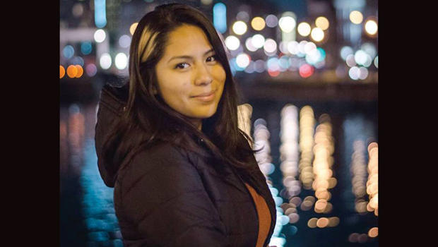 Nohemi Gonzalez is seen in a photo posted to Facebook by France's Strate College of Design.