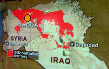 Coalition airstrikes bombard key ISIS targets in Syria
