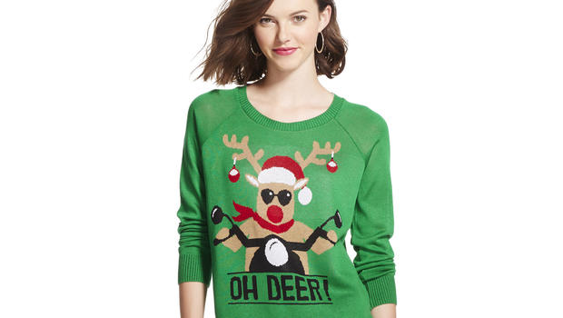 Oh deer: The rise of the ugly Christmas sweater - CBS News