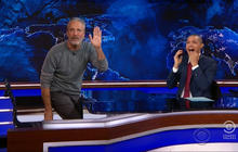"Jon Stewart returns to ""Daily Show"" for 9/11 first responders bill"