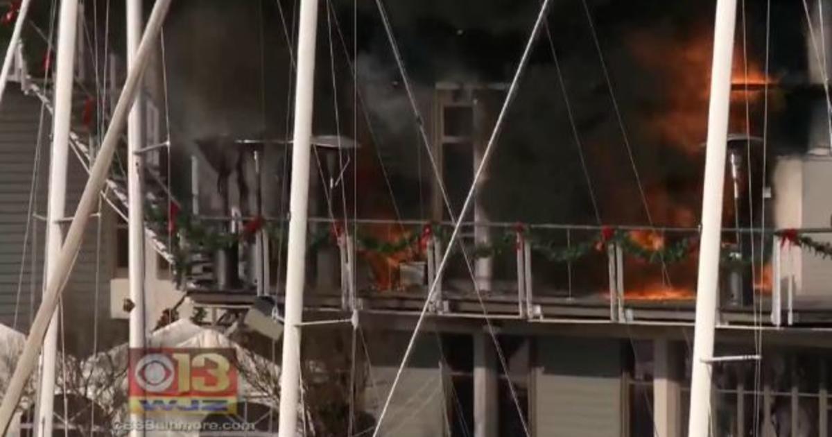 Massive fire rips through historic Annapolis Yacht Club