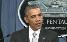 "President Obama: U.S. hitting ISIS ""harder than ever"""