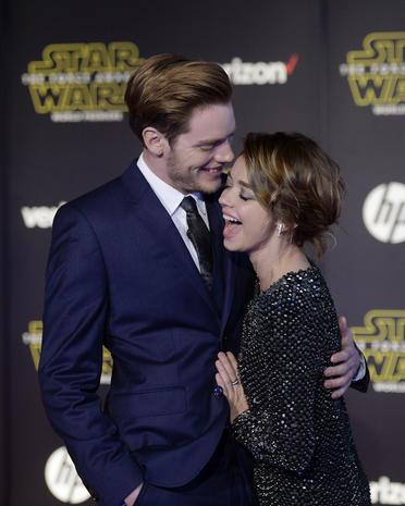 """Star Wars: The Force Awakens"" world premiere"