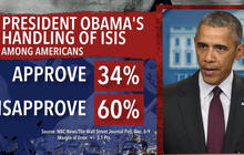 Obama promotes ISIS strategy amid high disapproval