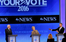 Democrats tackle national security, economy in third debate