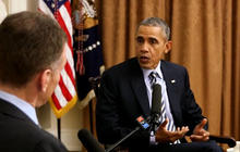 President Obama says Donald Trump is exploiting fear