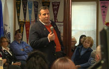 Hitting the campaign trail with Gov. Chris Christie