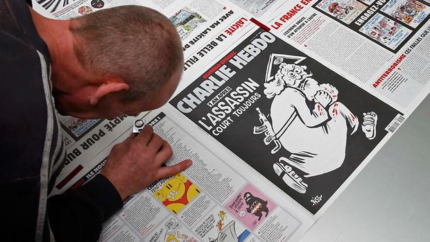 The work of Charlie Hebdo