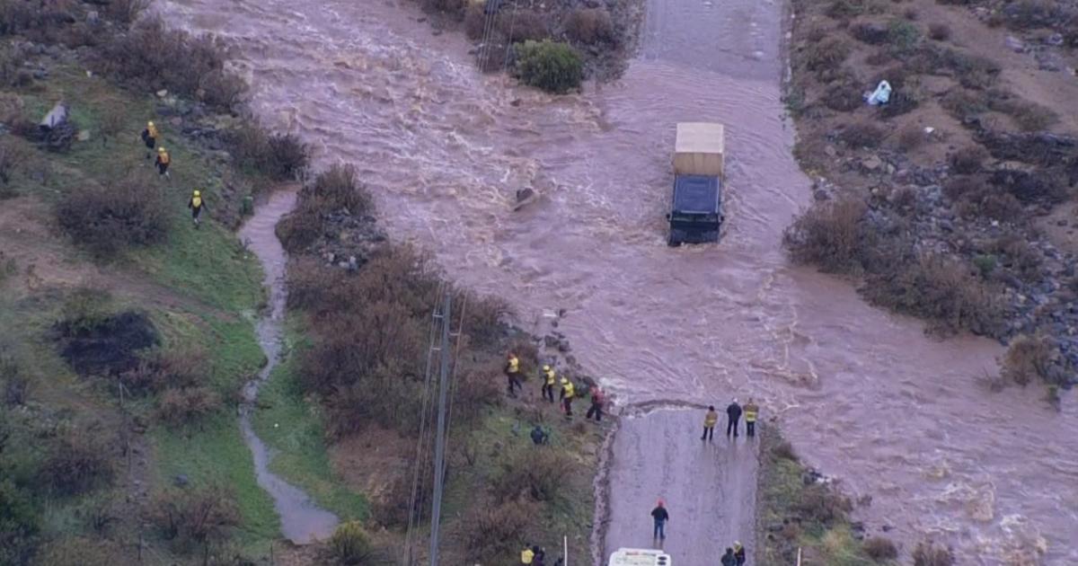 El Ni 241 O Storms Bring Floods Mudslides Damages In