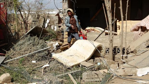 Yemen government falls