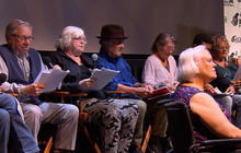 """A reading of Norman Lear's latest comedy, """"Guess Who Died?"""""""