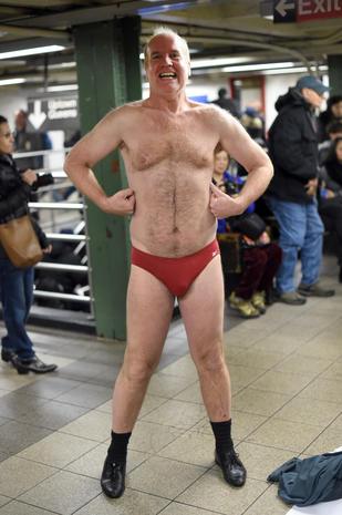 No Pants Subway Ride 2016