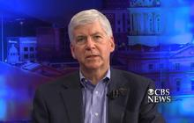 Michigan gov.: Lack of common sense caused Flint water woes
