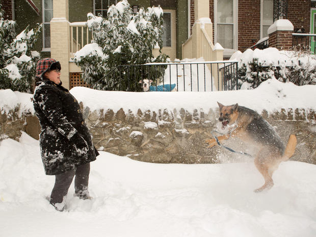 Massive blizzard buries East Coast