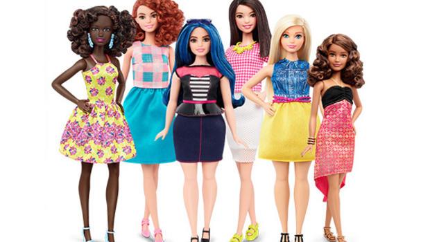 Barbie makeover