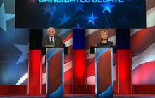 Clinton, Sanders clash in New Hampshire debate