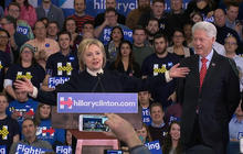 Hillary Clinton: Highlights from her speech after the New Hampshire primary