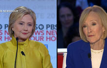 Hillary Clinton makes her case to female voters