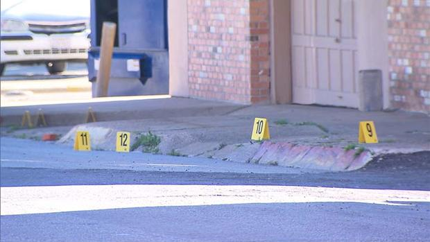 Mark Hasse shooting crime scene
