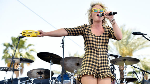 Cam performs onstage during day one of Stagecoach, California's Country Music Festival, at The Empire Polo Club on April 24, 2015, in Indio, California.