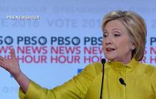 Democrats clash over campaign donations