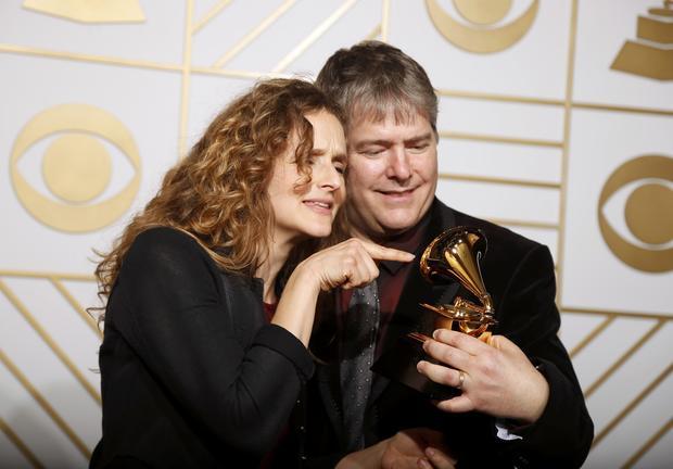 Grammys 2016 backstage