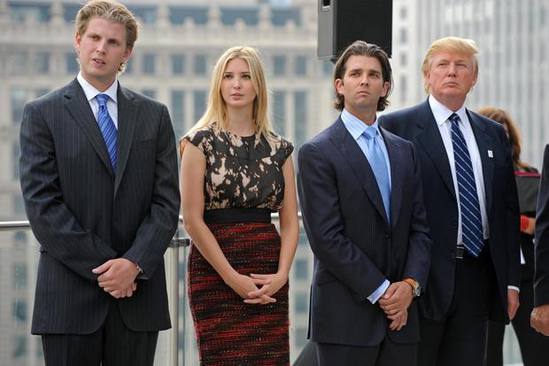 The Trump kids