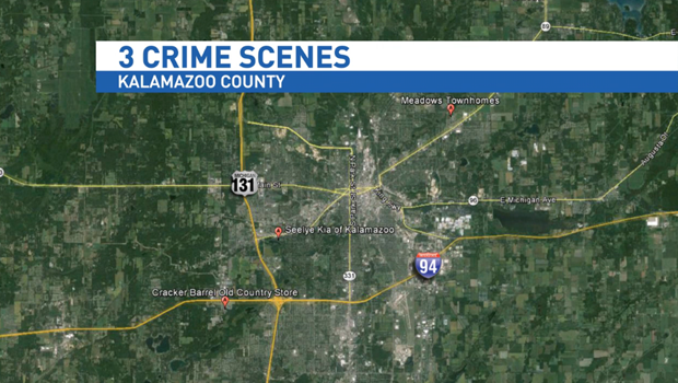 6 people dead 3 wounded in Kalamazoo shootings CBS News