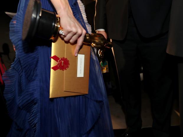 Oscars 2016 backstage