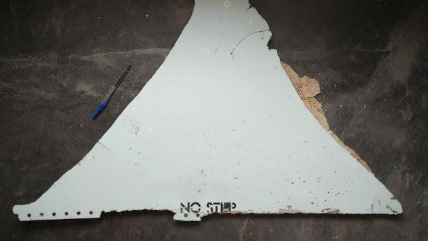 An item found in Mozambique at the end of February 2016, believed to be a possible part of missing Malaysia Airlines Flight 370