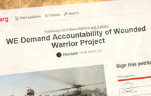 Donors outraged by Wounded Warrior Project expenditures
