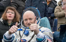 Scott Kelly on record-setting space mission