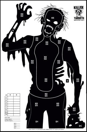 Zombies, Nazis and Jar Jar Binks: Novelty shooting range targets