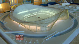 60 Minutes reveals model of new Redskins stadium