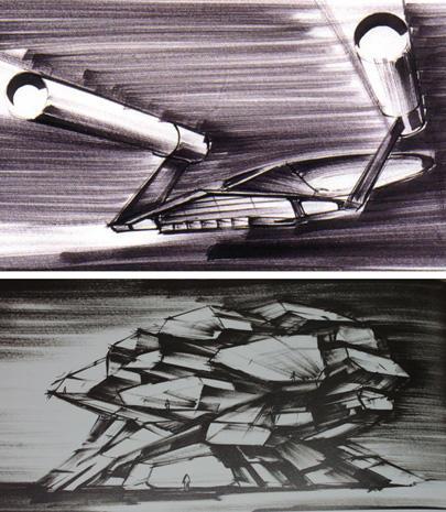 The fantastic production designs of Ken Adam