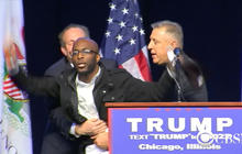 Donald Trump and Ted Cruz respond to Chicago rally unrest