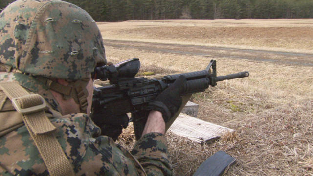 The M4 The Marines New Weapon Of Choice Cbs News