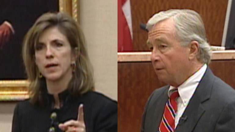 Attorneys Kelly Siegler and  Dick DeGuerin