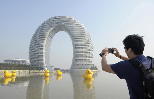 China's weird architecture